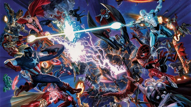 Marvel Plans Biggest Comic Event Ever With Return Of Secret Wars