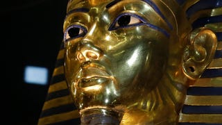 Among the Many Items Joining King Tut In the Afterlife ... Four Socks?