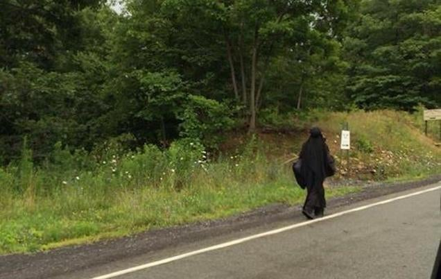 "Mysterious ""Woman in Black"" Roams Roadsides from Georgia to Ohio"