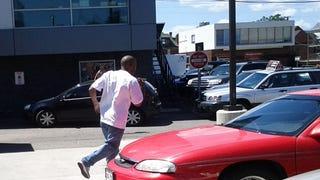 Denver Hit and Run Driver Injures 3 Pedestrians and Kills a SAAB Wagon
