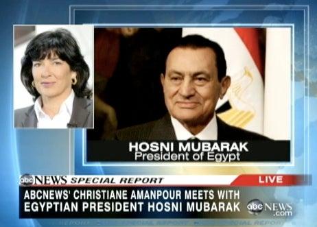 An Interview With Hosni Mubarak
