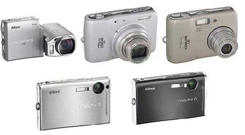 Nikon Releases 5 COOLPIX Point'n'Shoots