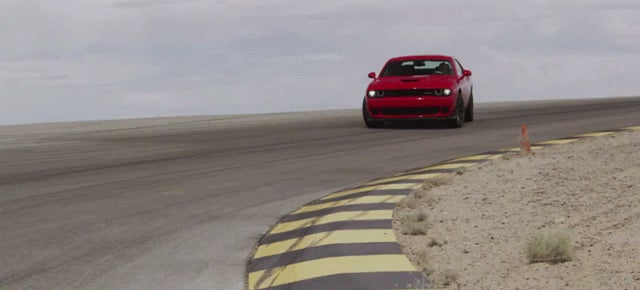 The Dodge Challenger SRT Hellcat Has An Air Intake IN ITS EYEBALL