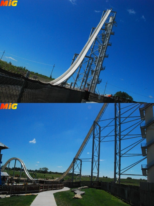 The World's Tallest Waterslide Looks as Terrifying As It Sounds