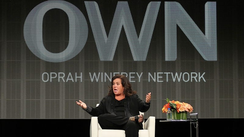 Rosie O'Donnell's Show Cancelled for Sucking