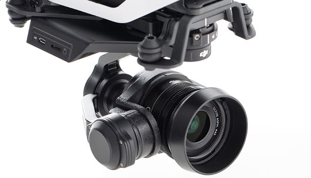 DJI'S Got a Fancy New Interchangeable-Lens Camera For Drones