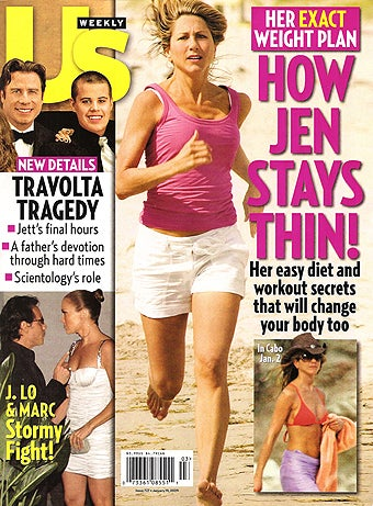 This Week In Tabloids: Thin Jen Writes Poetry For John; SJP's Moving Out
