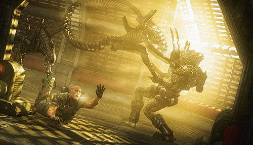 A Spaceport Bar Braces For The Worst Brawl In History, In AVP Concept Art