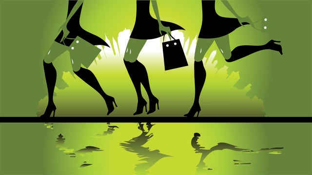 To Save Money, Try Shopping Around Hot People