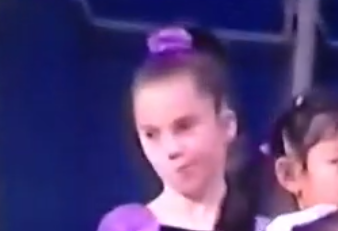"McKayla Maroney Was Doing The ""Not Impressed"" Face At Age 8"