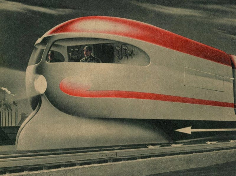 Nuclear-Powered Vehicle Concepts from the Mid-20th Century