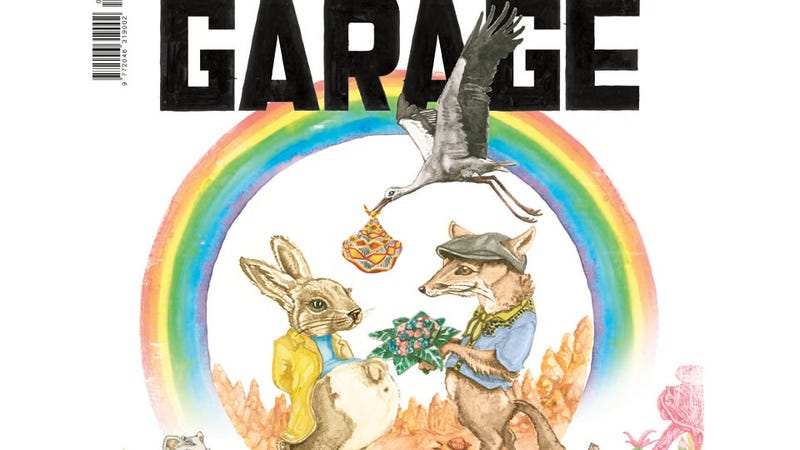 There Are No Genitals On Garage Magazine's New Cover