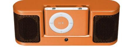 Corega iPod Dock, a Micro Boombox for shuffle
