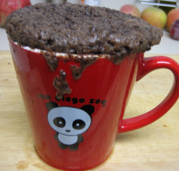 Microwave an Instant Chocolate Cake in a Coffee Mug