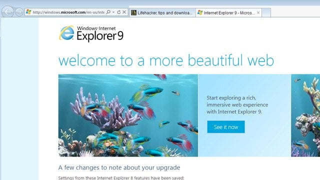 Internet Explorer 9 Officially Released