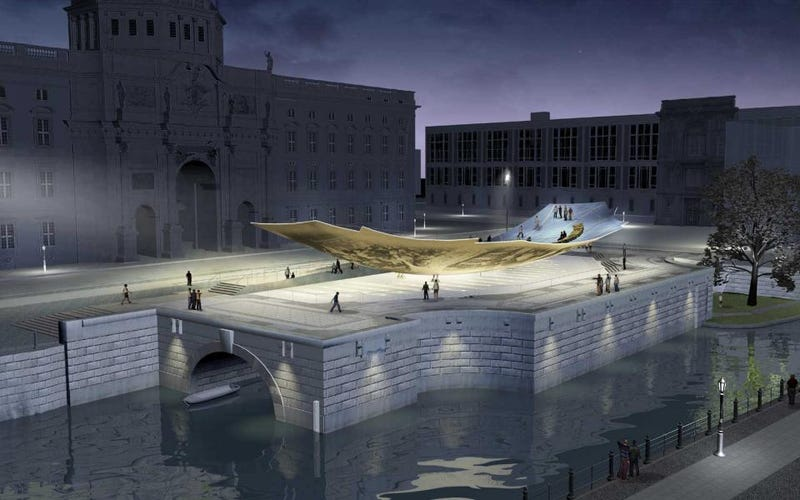 Berlin Can't Finish Its Reunification Memorial On Time Because of Bats