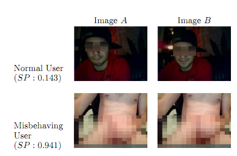 Researchers develop method to identify flashers on Chatroulette