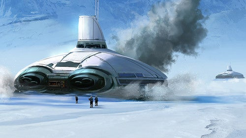 A Wintry Wampa Wonderland For Star Wars: The Old Republic