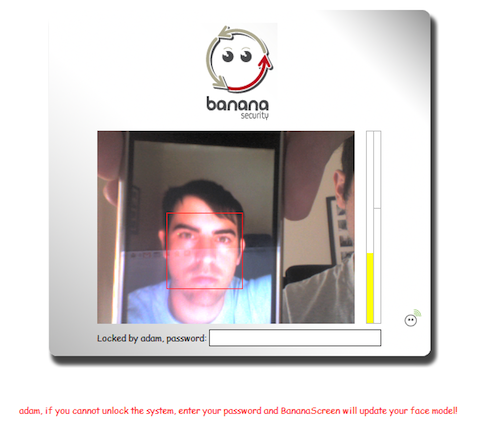 Add face recognition login with BananaScreen