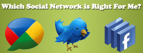 Which Social Network Is Right For You?