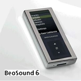 Beosound 6 MP3 Player, Great Looks at Even Greater Cost