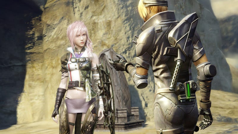 Final Fantasy's Lightning Doesn't Like Sand. It's Coarse and Rough and Irritating.