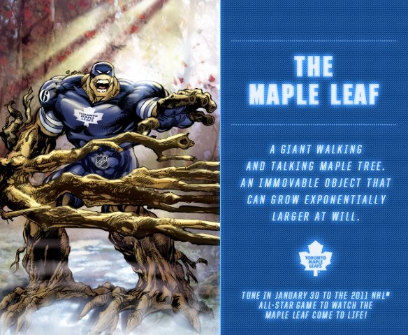 Checking Back In With Those Ridiculous NHL Superheroes