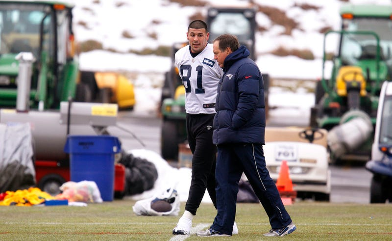 Aaron Hernandez Evidence Includes 33 Pages Of Texts With Bill Belichick