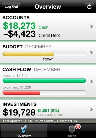 Mint.com Brings Balance Management to the iPhone