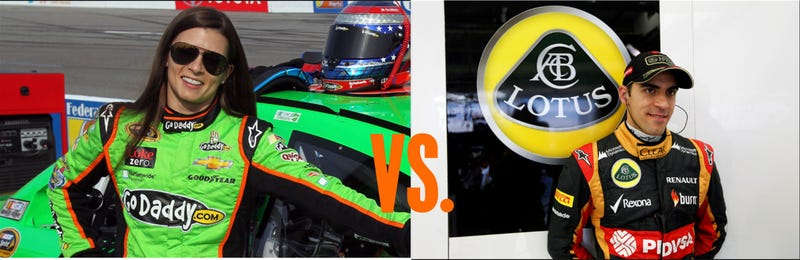Oppo Poll: Who's a worse driver, Danica or Pastor?