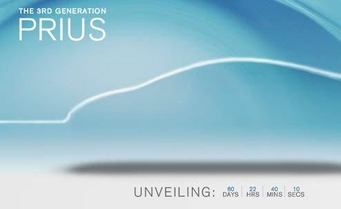 Toyota Unveils New Prius Micro-Site