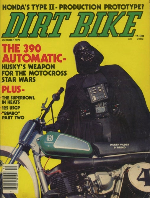 This is the greatest Star Wars-related magazine cover of all time