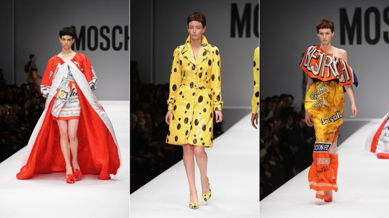 Moschino's Fall Collection Featured a High-Fashion McDonald's Uniform