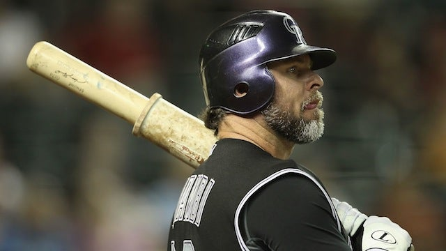 Jason Giambi Will Interview For The Rockies' Vacant Manager Position