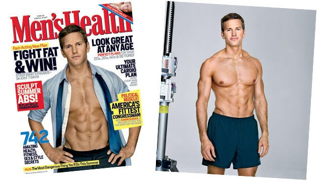 Congressman Aaron Schock Goes Shirtless to Help America