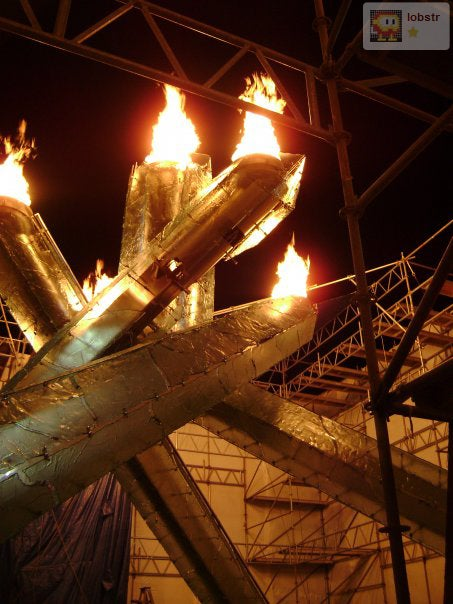 Revealed: The Vancouver Olympic Cauldron