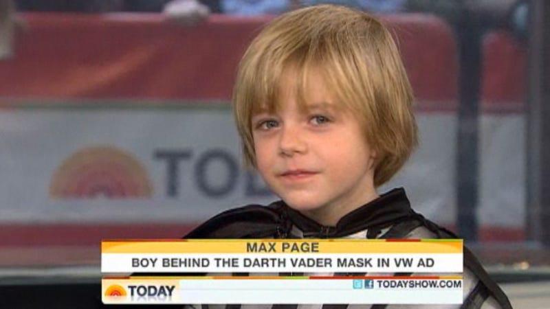 Darth Vader Kid Having Open-Heart Surgery Today