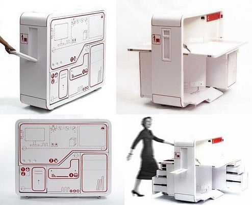 Planet 3 Studios Crams An Entire Office Workstation Into A Box