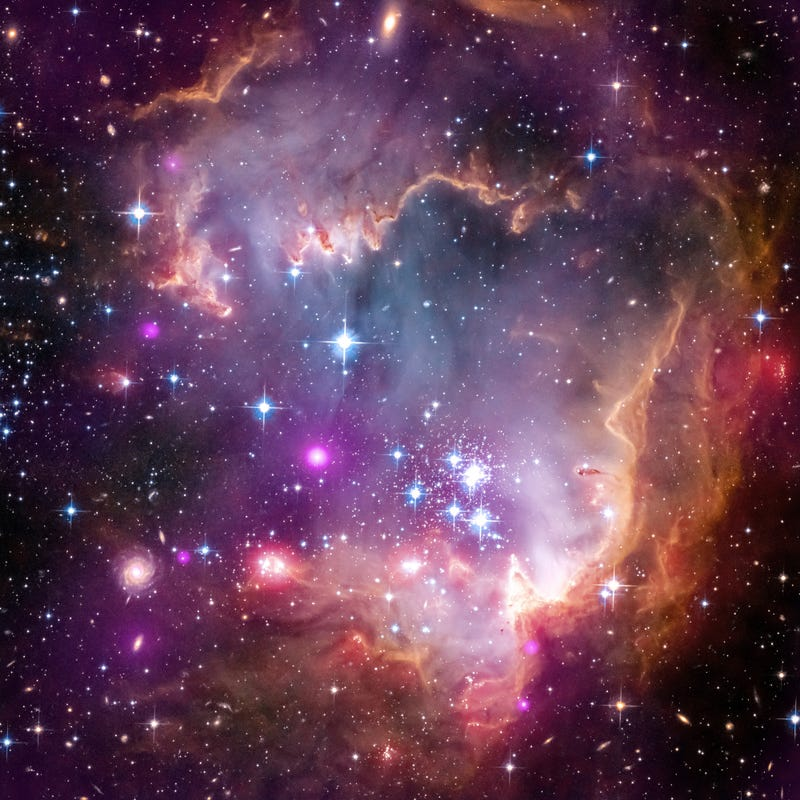 We've sampled the X-rays from young stars outside our own galaxy
