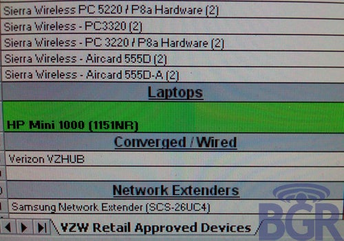 Verizon Confirms Netbook Plans, HP Mini Seems Most Likely