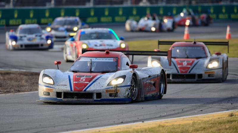 The Action Express Racing Team Wins A Manic Daytona 24 Hours