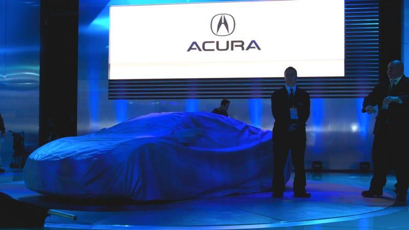 Acura NSX Concept: Detroit Auto Show Undercover Photos