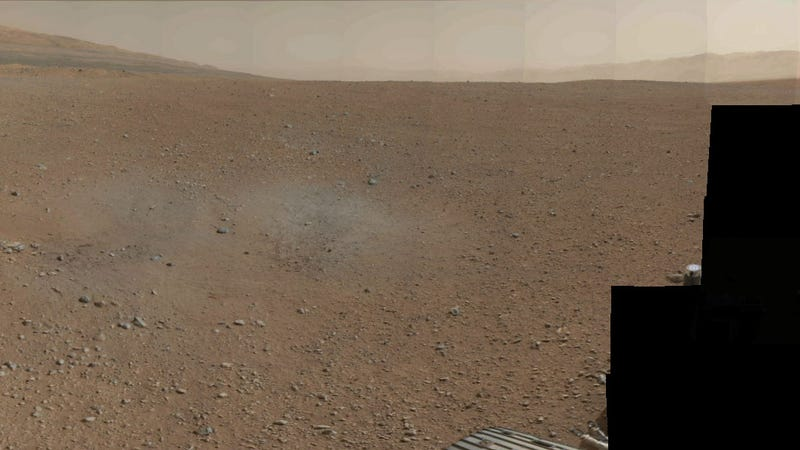 First Color 360-Degree Panorama Sent By Curiosity Rover Shows No Sailors Fighting In the Dance Hall