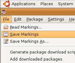 Save Synaptic Markings to Speed Up Ubuntu Reinstallation