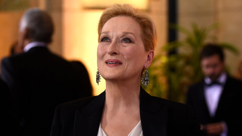Meryl Streep Is a 'Humanist' Not a Masculist So I Guess Words Don't Have Meaning Anymore