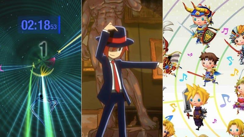 Dyad, Rhythm Thief and Theatrhythm: Three New Music Games For Three Different Audiences