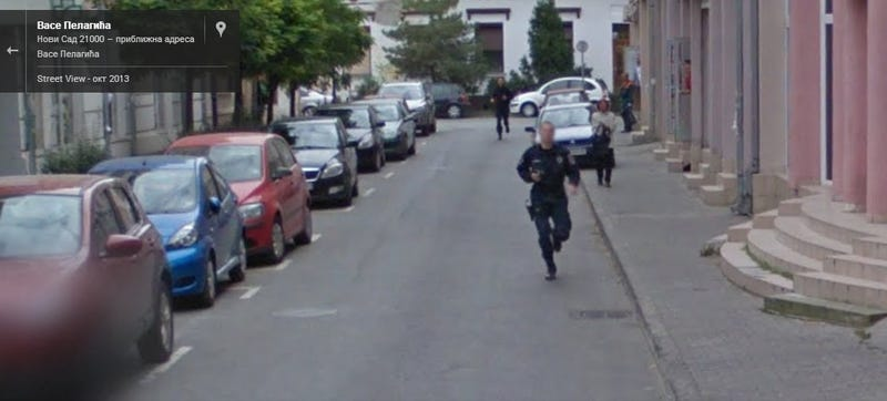 Google Street View Captures Crime From Start To Finish