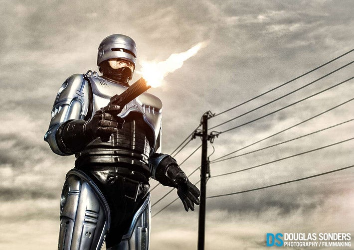Robocop And Robocruiser Photoshoot By Douglas Sonders