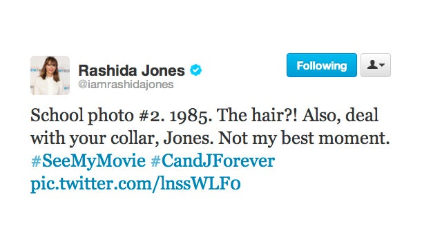 Pics or It Didn't Happen: Rashida Jones Was An Adorable Grade School Dork