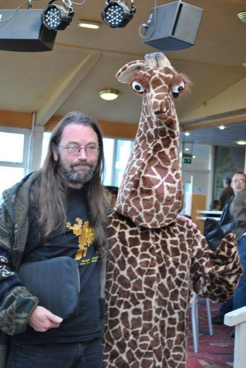 A Space Giraffe Meets Its Maker